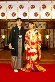 埼玉県 鴻神社 結婚式 食事会 2人だけ 家族