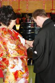 群馬県 玉村八幡宮 結婚式 食事会 2人だけ 家族