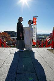 栃木県 足利織姫神社 結婚式 食事会 2人だけ 家族