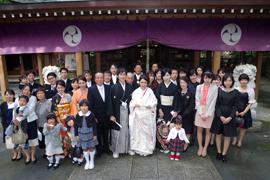 栃木 神社 結婚式 唐沢山神社 2人だけ 家族だけ 身内だけ DIY食事会の開き方