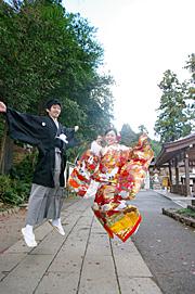 埼玉県 高麗神社 和装 結婚式