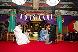 群馬県 榛名社 結婚式 食事会 2人だけ 家族